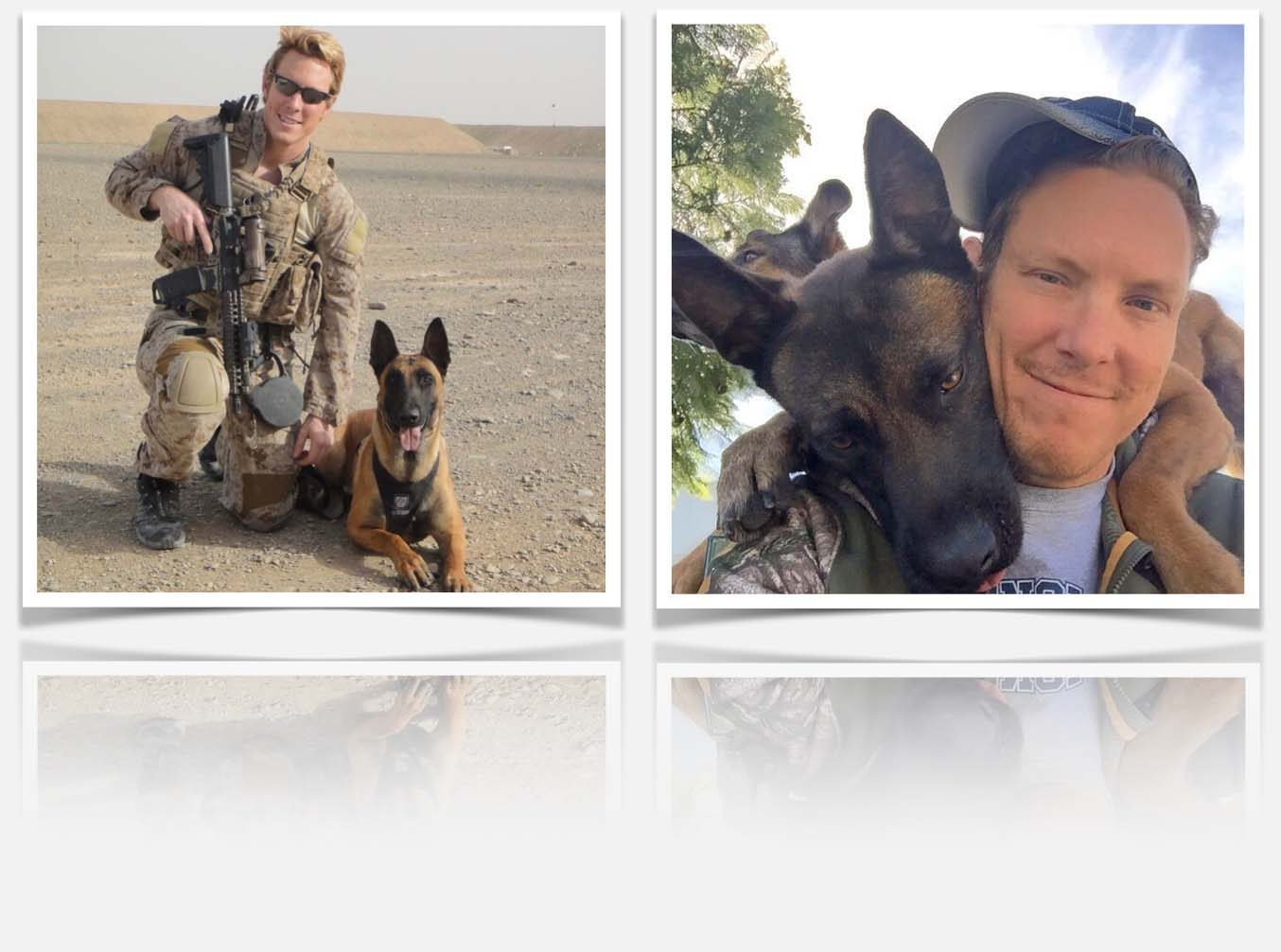 Active Valor K9 trainer, John Devine, teaches veterans how to train their dogs.