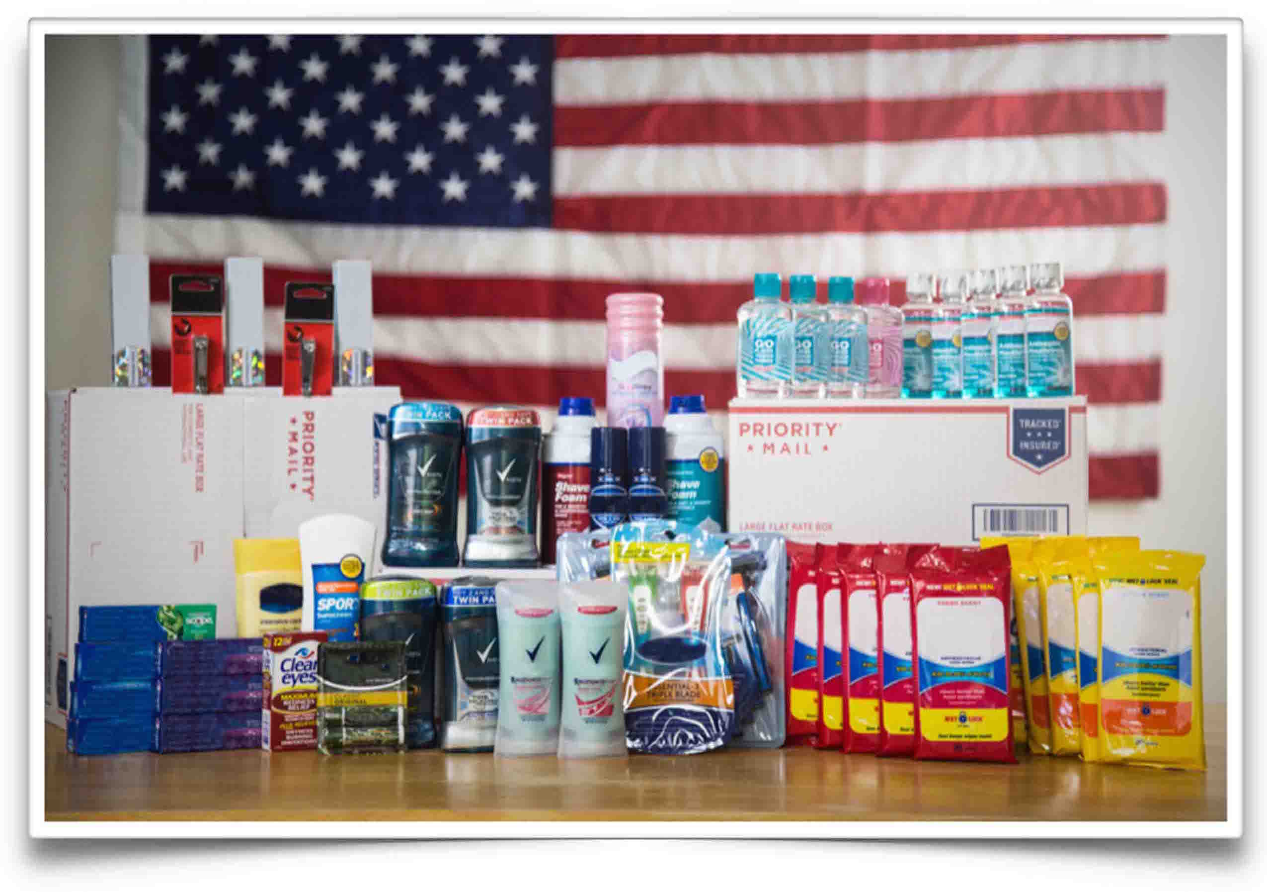 Active Valor Hygiene Care Package