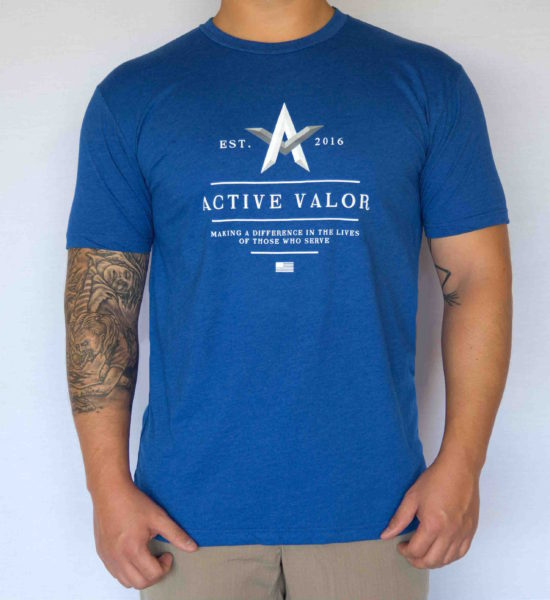 Men's Shirt: Royal Blue