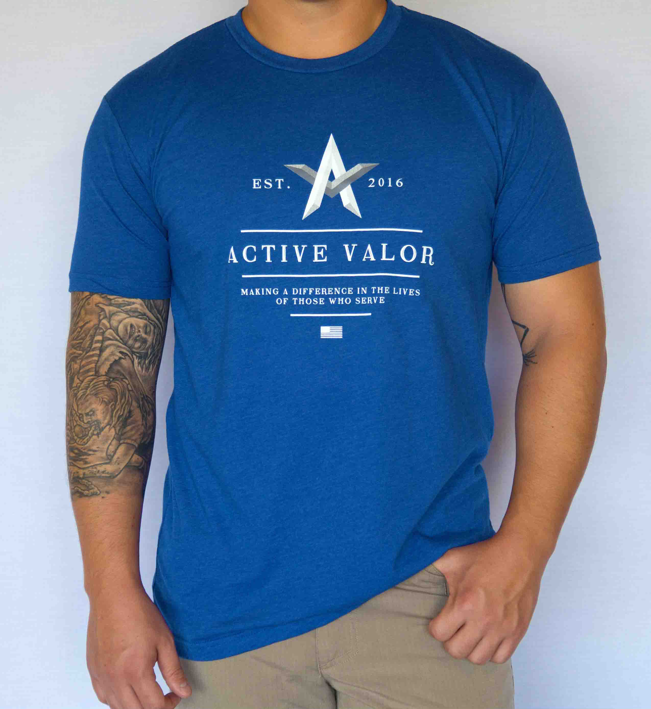 Active Valor Apparel: Royal Blue