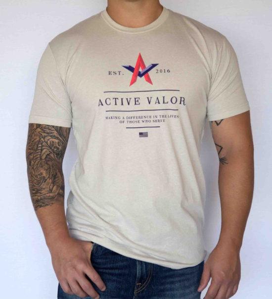 Men's Shirt: Desert Storm