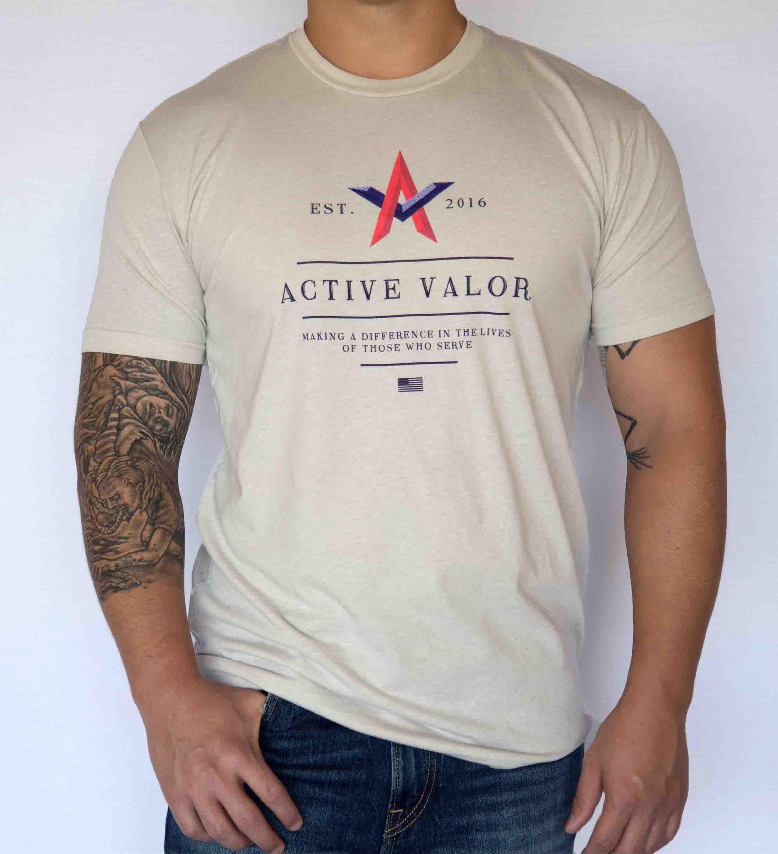 Active Valor Apparel: Desert Storm
