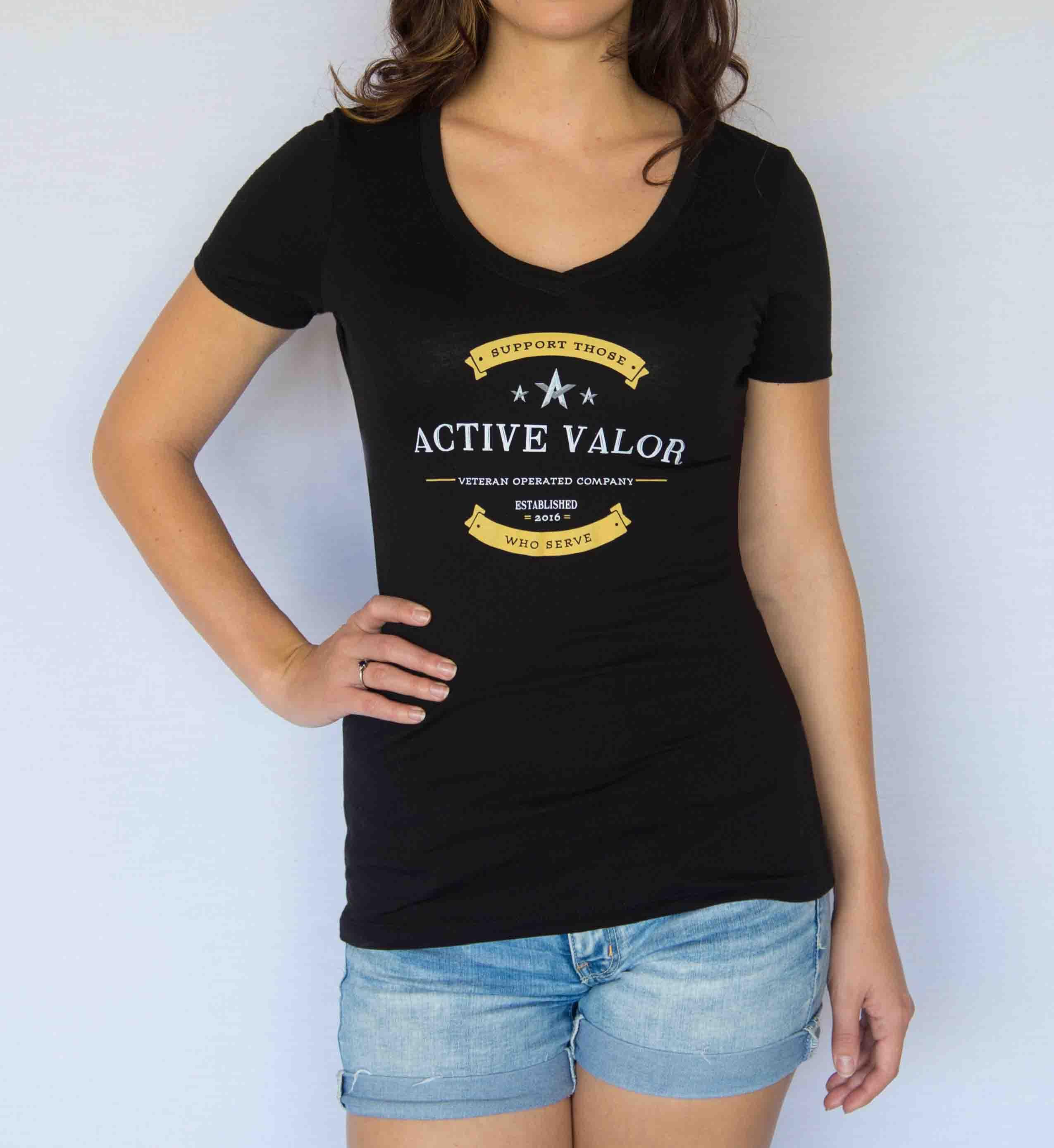 Active Valor Women's Apparel – Blackout