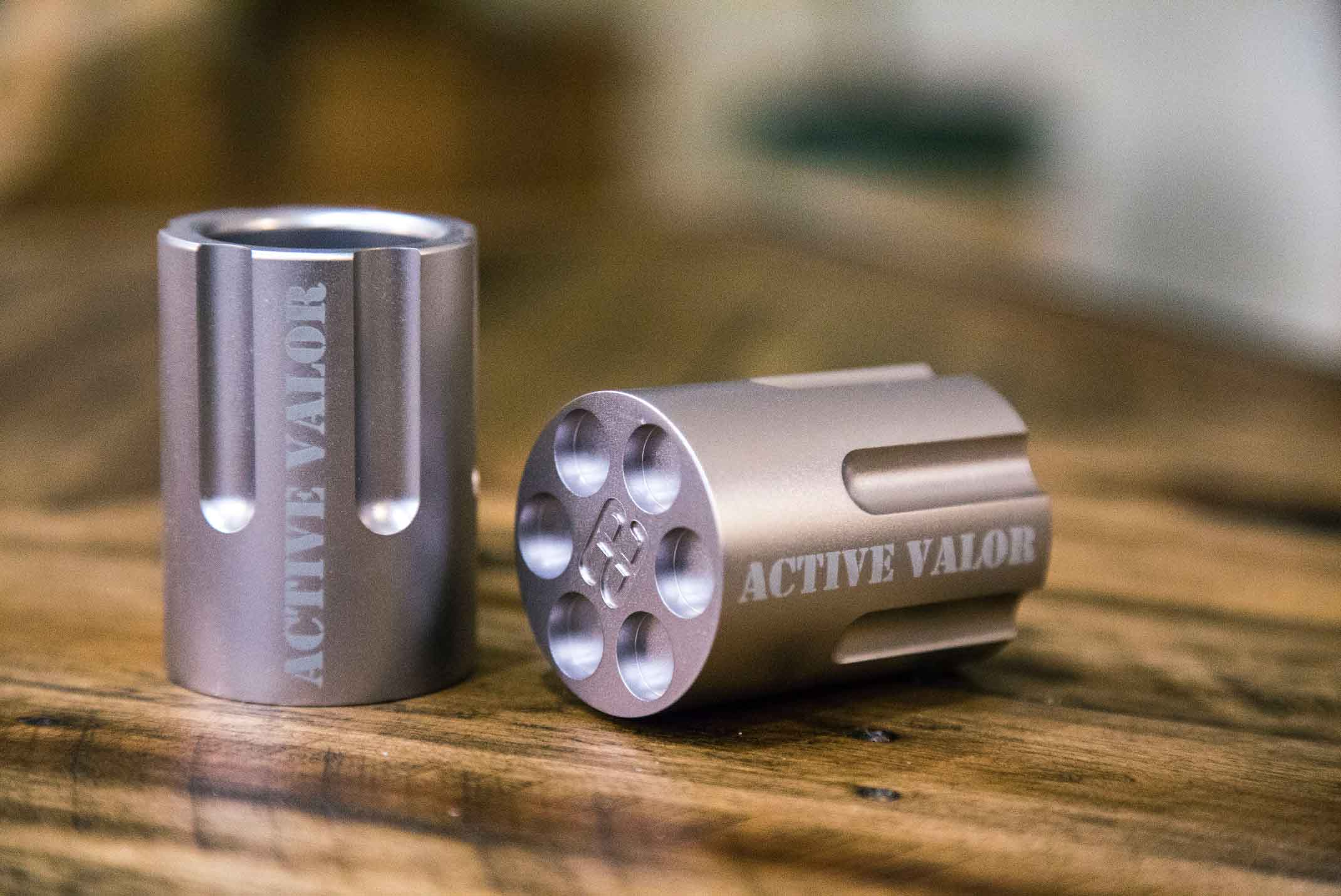 Active Valor Shot Glass