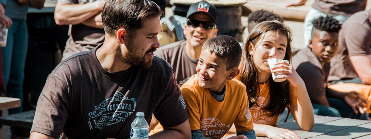 Valor Adventures, Active Valor pairs veteran mentors with Gold Star Children for Adventures